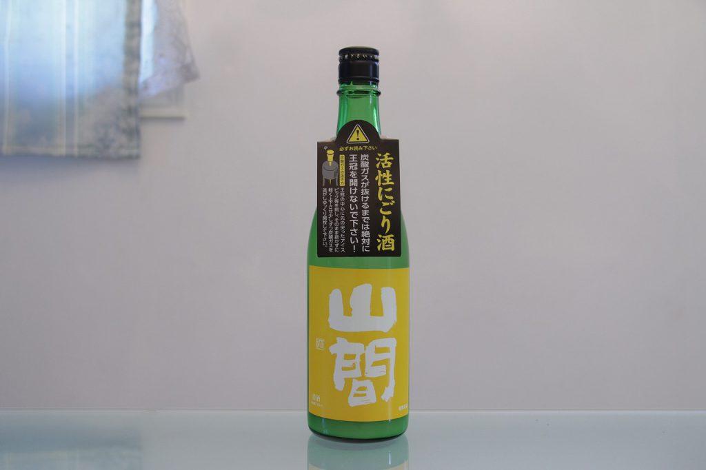山間 特別純米 ORIORI ROCK (活性にごり酒)