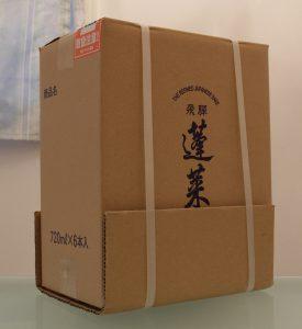 渡辺酒造店の梱包