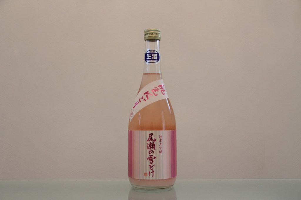 尾瀬の雪どけ 純米大吟醸 桃色にごり 生酒 龍神酒造