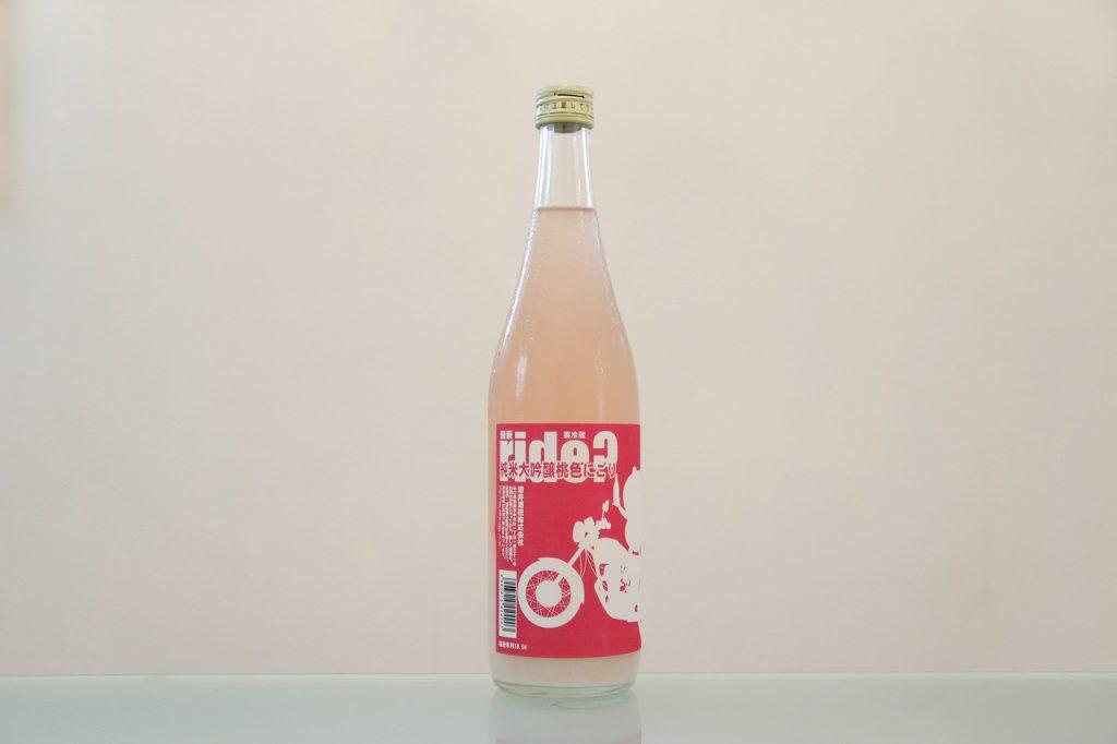五橋 RIDE 純米大吟醸 桃色にごり