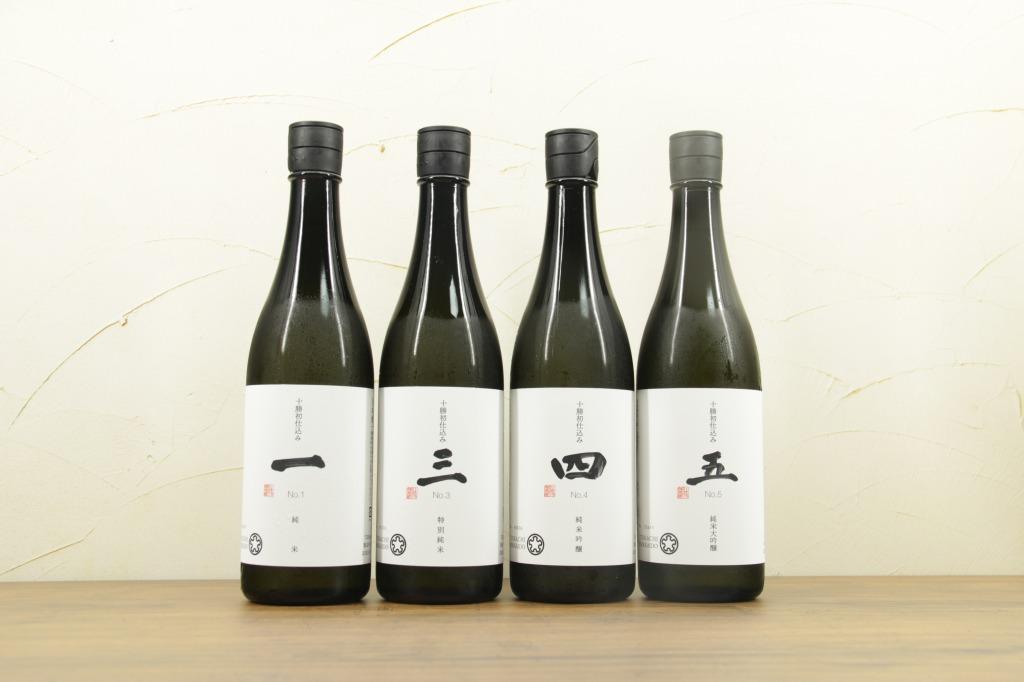 「十勝初仕込み・純米酒」720ml 4本セット